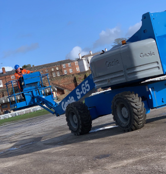 Genie at Chester Racecourse /></p> <p>Our training team have been on site at Chester Racecourse delivering IPAF training to a customer on a Genie S65 boom.</p> <p>If you require IPAF training, click the link below to book.</p> <p><a href=